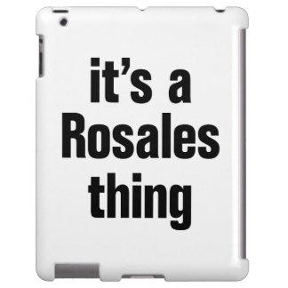 su una cosa del rosales funda para iPad