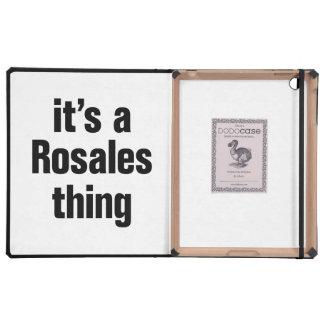 su una cosa del rosales