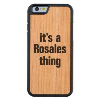 su una cosa del rosales funda de iPhone 6 bumper cerezo
