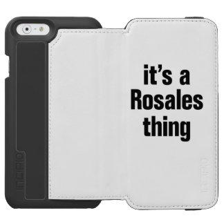 su una cosa del rosales funda cartera para iPhone 6 watson
