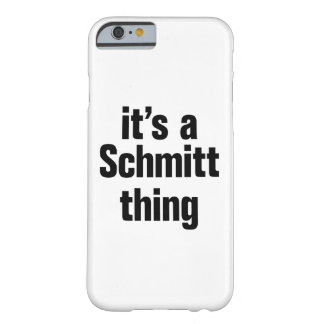su una cosa del schmitt funda de iPhone 6 barely there