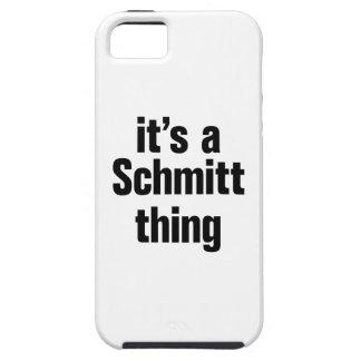 su una cosa del schmitt iPhone 5 fundas