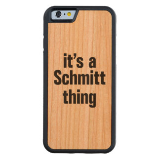 su una cosa del schmitt funda de iPhone 6 bumper cerezo