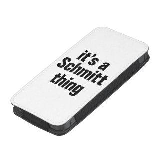 su una cosa del schmitt funda acolchada para iPhone