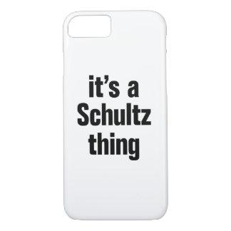 su una cosa del schultz funda iPhone 7