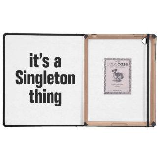 su una cosa del singleton