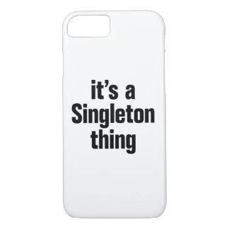 su una cosa del singleton funda iPhone 7