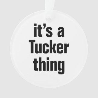 su una cosa del tucker
