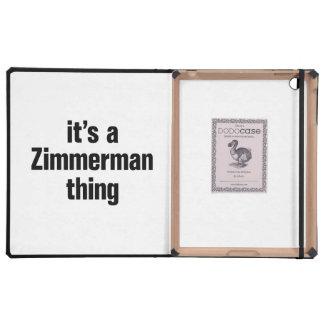 su una cosa del zimmerman