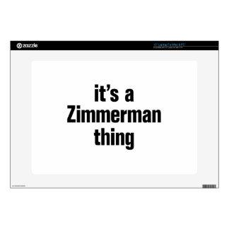 su una cosa del zimmerman 38,1cm portátil calcomanía