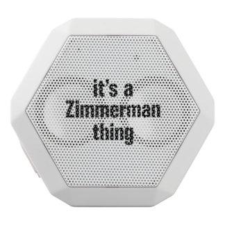 su una cosa del zimmerman altavoces bluetooth blancos boombot REX
