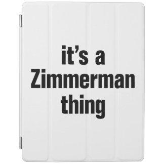su una cosa del zimmerman cover de iPad