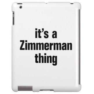 su una cosa del zimmerman funda para iPad