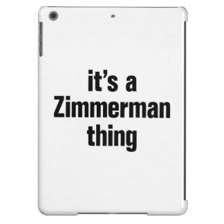 su una cosa del zimmerman funda para iPad air
