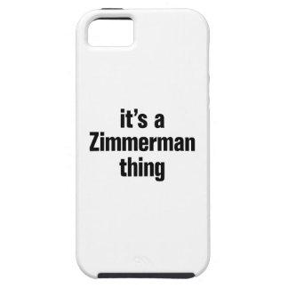 su una cosa del zimmerman funda para iPhone 5 tough