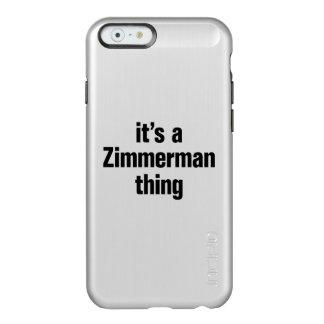 su una cosa del zimmerman funda para iPhone 6 plus incipio feather shine