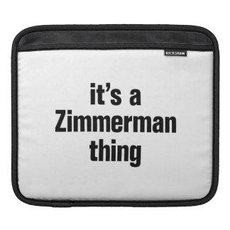 su una cosa del zimmerman fundas para iPads