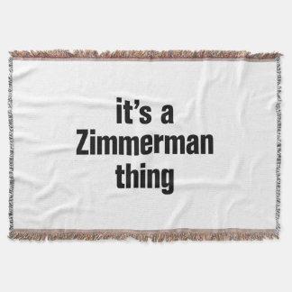 su una cosa del zimmerman manta