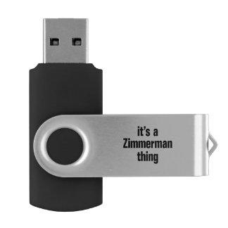 su una cosa del zimmerman memoria USB 2.0 giratoria
