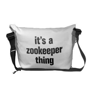 su una cosa del zookeeper bolsas de mensajeria