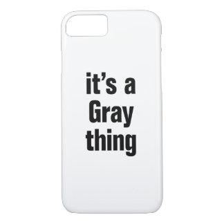 su una cosa gris funda iPhone 7