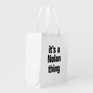 su una cosa nolan bolsas de la compra