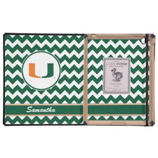 Su universidad conocida del logotipo de Miami