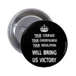 Su valor nos traerá la victoria el precio bajo bla pin