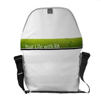 Su vida con la bolsa de mensajero del carrito del  bolsa de mensajeria