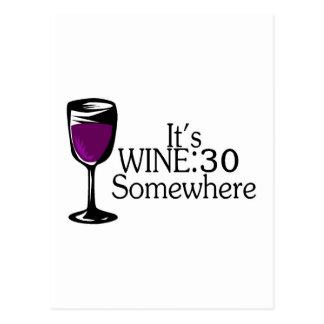Su vino 30 en alguna parte postales