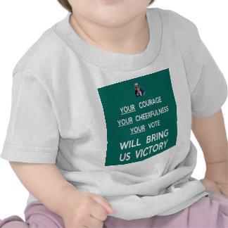 Su voto nos traerá la victoria camiseta