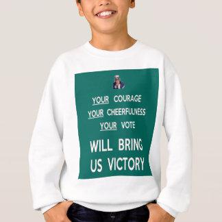 Su voto nos traerá la victoria polera