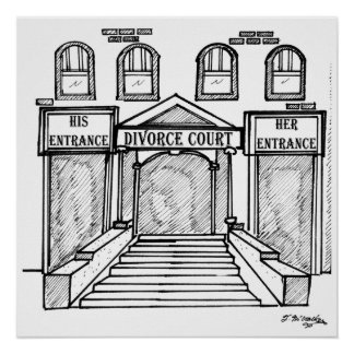 Su y el suyo encanta la corte de divorcio poster