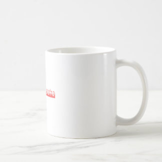 """""""Su"""" y """"usted es"""" es dos diversas palabras Taza De Café"""