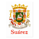 Suárez Shield of Puerto Rico Postcards