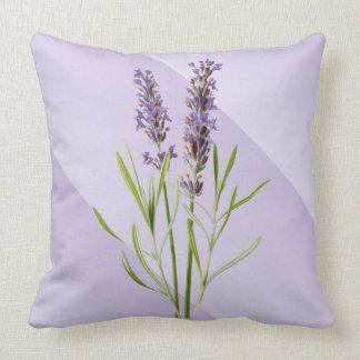 Suave de la lavanda y elegante púrpuras cojines