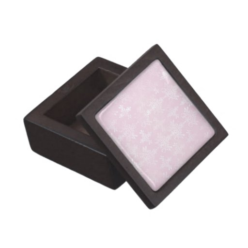 suavemente modelo apenado rosa del damasco caja de recuerdo de calidad