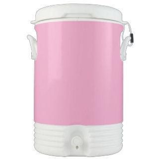 Suavemente rosa vaso enfriador igloo