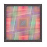 Suavidad del modelo de Rhombs diseñada por Tutti Cajas De Recuerdo De Calidad