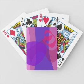 Suavidad fresca de la imagen abstracta del bosque baraja de cartas