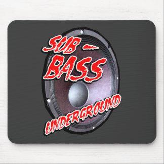 SUB-BASS UNDERGROUND MOUSE PAD