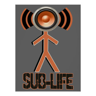Sub Life Dubstep Posters
