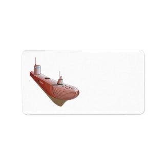 Sub Marine 2 Label