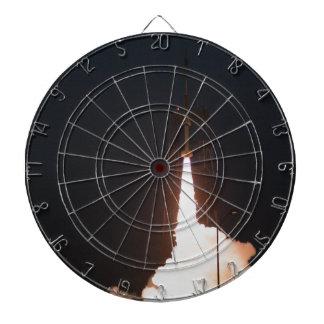Sub Orbital Rocket Launch Dartboard