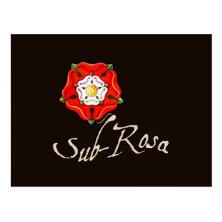 Sub Rosa Postcard