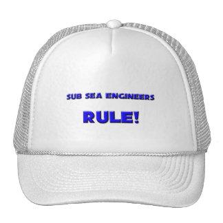 Sub Sea Engineers Rule! Mesh Hats