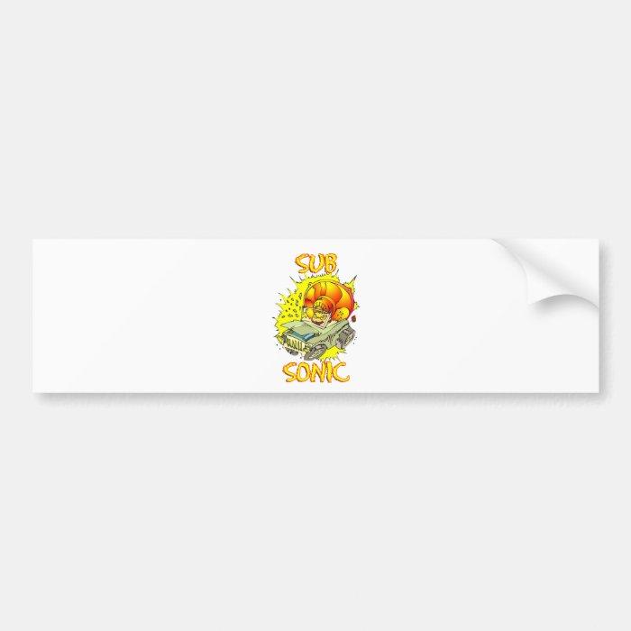 Sub Sonic Bumper Sticker