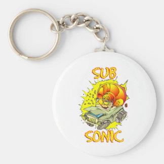Sub Sonic Keychain