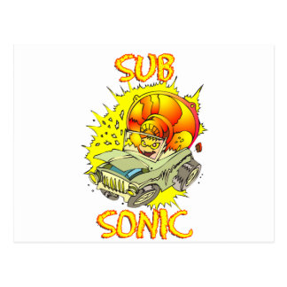 Sub Sonic Postcard