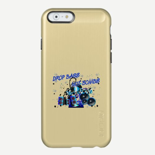 Sub vs War Drop Bass Not Bombs Incipio Feather Shine iPhone 6 Case